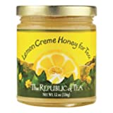 The Republic Of Tea Honey - Lemon Creme (12-Ounce Jar)