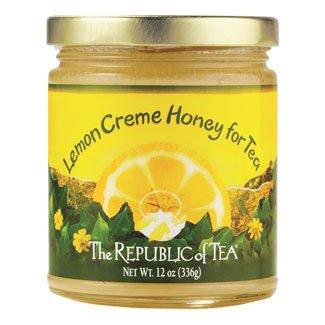 The Republic Of Tea Honey - Lemon Creme (12-Ounce Jar)