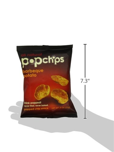 082666722007 - Popchips Potato Chips, BBQ, 0.8 Ounce (Pack of 24) carousel main 5