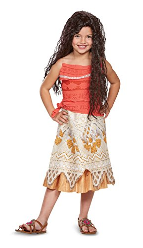(Disney Moana Costume, Medium)