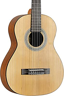 Fender MC-1 Parlor 3/4 Size Classical Guitar, Satin Body Finish from Fender