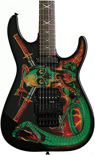ESP George Lynch Signature Skulls and Snakes Electric Guitar