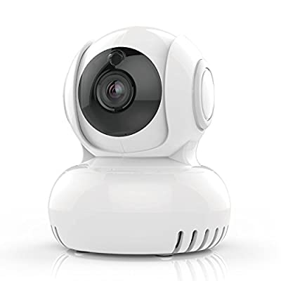 Wireless Security Camera 1080P GOSPELL HD WiFi Home Surveillance Camera for Baby/Elder/Pet/Nanny Monitor with Temperature alarm Night Vision Motion Detection Pan/Tilt Two-Way Audio