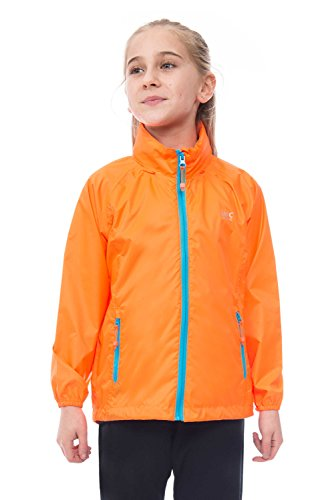 Mac in a Sac Mini Kids Neon Waterproof Packable Jacket for sale  Delivered anywhere in USA