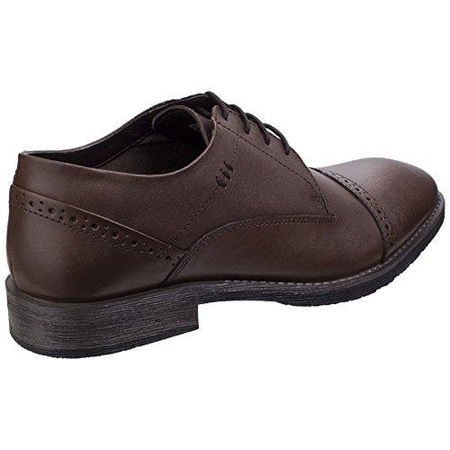 Hush Puppies Mens Craig Luganda Oxford Shoes Black uPLFm8Yr