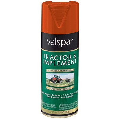 Tractor and Implement Enamel Spray Paint [Set of 6] Color: Allis Chalmers - Spray Enamel Implement