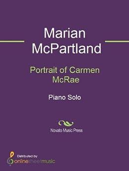 Portrait of Carmen McRae by [Marian McPartland]