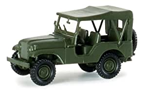 Herpa - Willy's Jeep, M38 A1 713 US Army