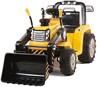Mondial Toys Trattore per Bambini con Benna RUSPA Escavatore