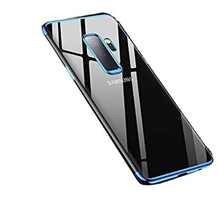hot sales 74a36 cf75b Sajni Creations Samsung J8 Back Cover, Electroplated Soft TPU 3D Anti-Knock  Ultra Thin Transparent Silicon Back Cover Case for Samsung Galaxy J8 ...