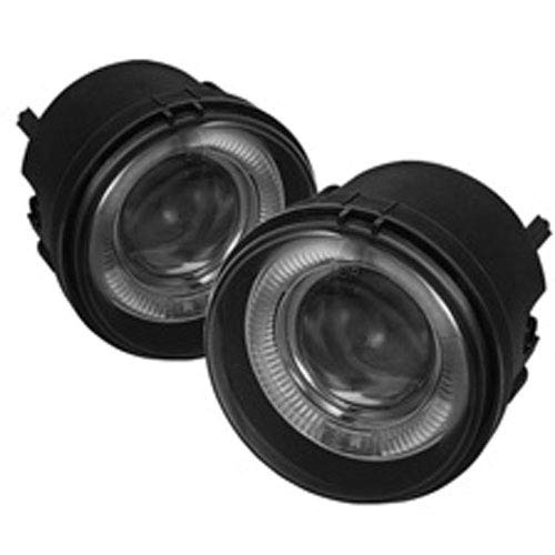 Spyder Auto 5039026 Projector Halo Style Fog Lights Black/Smoke ()
