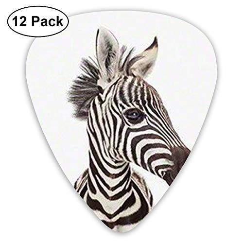 V5DGFJH.B Zebra Face Classic Guitar Pick Player's Pack for Electric Guitar,Acoustic Guitar,Mandolin,Guitar -