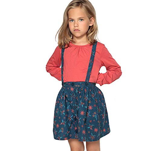 La Redoute Collections Printed Skirt and T-Shirt Set 3-12 Years Red Size 6 Years (114 cm) ()