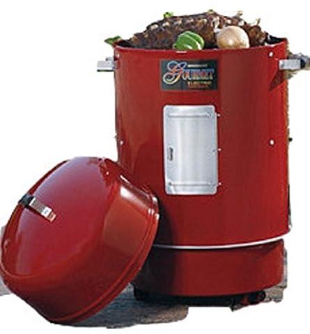 Brinkmann 852-7080-H Gourmet Charcoal Grill and Smoker (Brinkmann Smoker Pan)