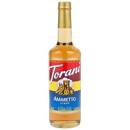 (Torani Amaretto Syrup (1 Single 750 ml bottle), 25.4 oz)