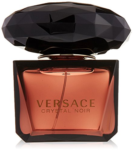 (VERSACE Crystal Noir Eau De Parfum Spray for Women, 3 Ounce)