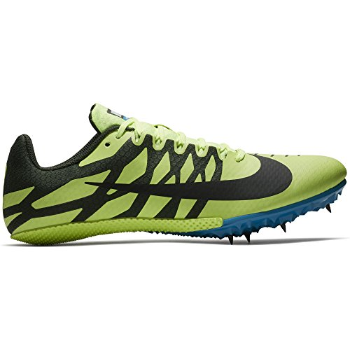 Nike Zoom Rival S 9 Track Spike Volt Glow/Black/Sequoia/Blue Orbit Size 12 M US