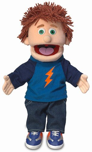 14″ Tommy, Peach Boy, Hand Puppet
