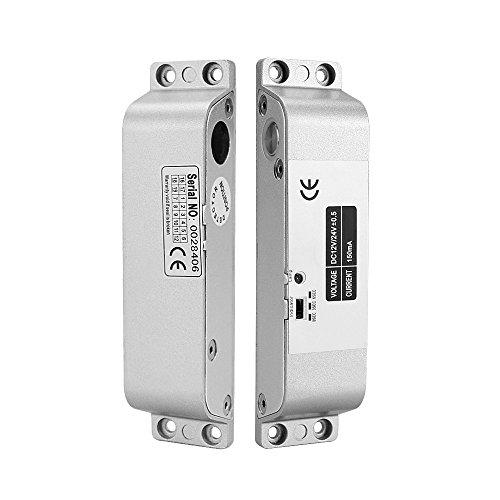 OBO HANDS Fail Safe Drop cerrojo de DC12 V para puerta Candado de seguridad Control de Acceso Puerta Eléctrica (X cerrojo)