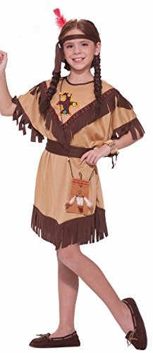 Forum Novelties Native American Princess Costume, Child's Small (Kids Princess Outfit)
