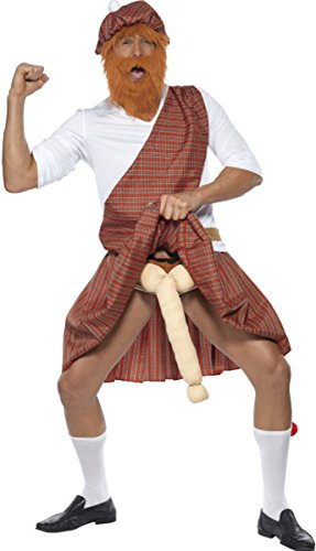 Highlander Fancy Dress Costumes - Well Hung Highlander Costume