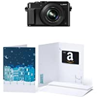 Panasonic LUMIX DMC-LX100K 4K Point and Shoot Camera w/  $200 Amazon.com Gift Card