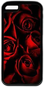Red Rose Pattern Theme Case For Iphone 6 4.7Inch Cover Case
