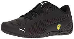 Puma Men's Sf Drift Cat 5 Ultra Walking Shoe, Black-rosso Corsa Black, 10.5 M Us