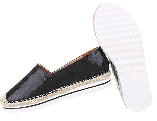 Flache Damen Slipper   Metallic Espadrilles Flats   Bast Schuhe Glitzer    Slip-ons Damenschuhe ... f624252512
