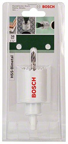 diametro 38 mm Sega a tazza bimetallica HSS 1 Bosch 2609255607