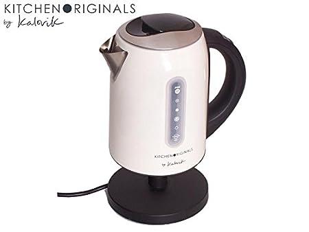 KitchenAid Originals TKG JK 1037 kto Hervidor de agua de acero inoxidable con selección de temperatura 1,7 litros: Amazon.es: Hogar