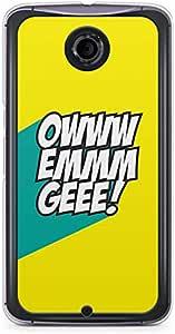 Funny Nexus 6 Transparent Edge Case - OMG