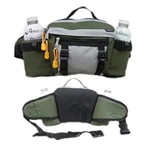 Dual Hydration Waist Pack Moss By Everest