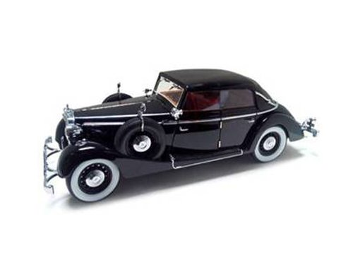 1937-maybach-sw38-spohn-4-doors-convertible-black-1-18-by-signature-models-38210