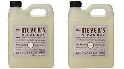 Mrs. Meyer's Clean Day Liquid Hand Soap Refill - Lavender - 33 oz - 2 pk