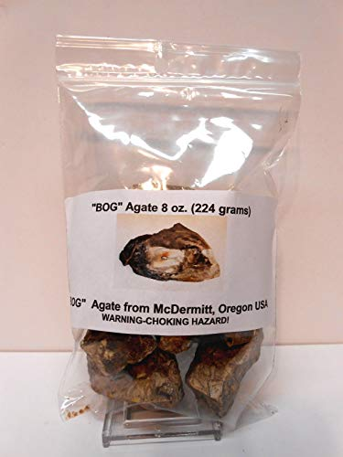 Rockhound's 1st Choice Rock Tumbler Gem Refill Kit - Bog Aga