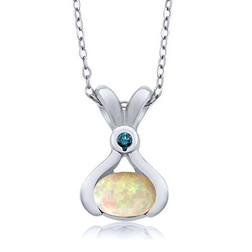 0.54 Ct Oval Diamond - 2