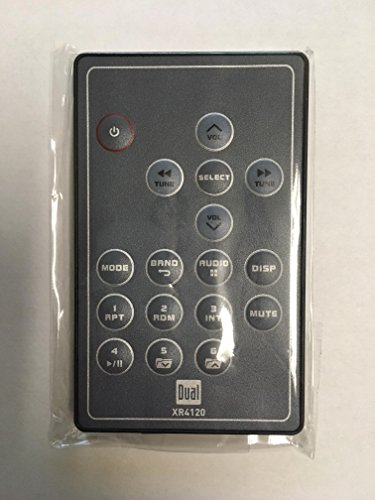 Dual Electronics XR4120 Replacement Remote Control by Dual Electronics