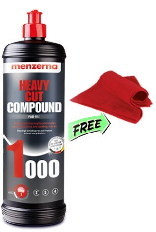 Menzerna 1000 Heavy Cut Compound with FREE MICROFIBER TOWEL