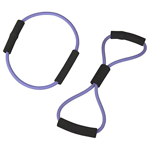 Figure 8 Loop and Circle O-Ring Workout Yoga Fitness Resistance Exercise Bands Set Review