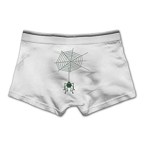 (Pmftryuer Men's Boxer Briefs Underwear Spinne Halloween F2 Printed Underpants)