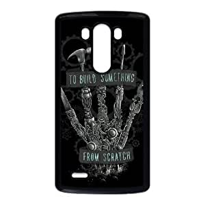 LG G3 Cell Phone Case Black TO BUILD SOMETHING FROM SCRATCH M2T5FT