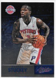 Rodney Stuckey 2012-13 NBA Absolute Detroit Pistons Card (Rodney Stuckey Nba)