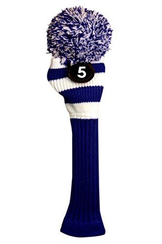 Majek #5 Fairway Metal Wood Blue & White - Fairway 5 Wood Headcover Shopping Results