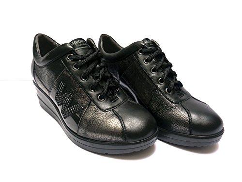 MELLUSO - Zapatos de Cordones para Hombre Negro Negro tDNxdrTo