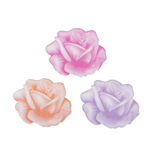 Eagle Rose Shaped Sticky Notes, 2.75 X 2.5-Inch, 3 Colors, 2-Pack, 150 sheets In Total, Holiday Gift