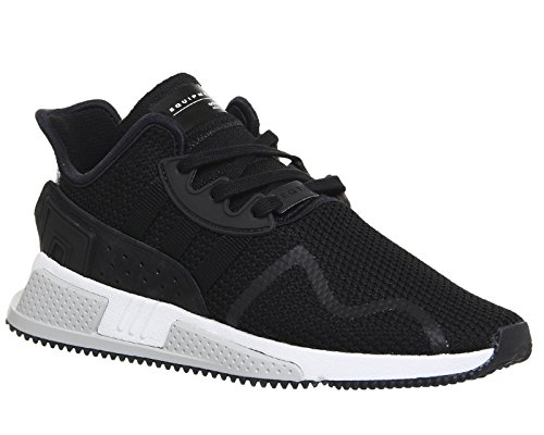 outlet locations cheap online adidas Originals Men's Adidas EQT Cushion Sneaker In Elastic Knit Fabric and Nubuck 10(UK)-10½(US) Black free shipping recommend 2014 cheap sale best wholesale cheap price buy cheap outlet locations PuyEa