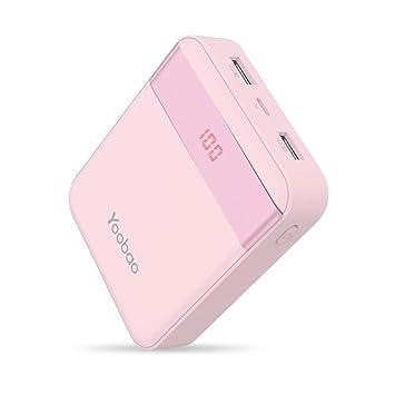 Yoobao M4Pro 10000mAh Cargador portátil Banco de teléfono móvil Batería externa ultra pequeña y compacta,