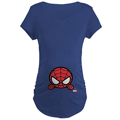 CafePress Spider Man Peeking Maternity Pregnancy