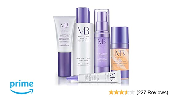 c82d82e0fb6 Amazon.com: Meaningful Beauty – Anti-Aging Daily Skincare System – for  Lifting and Firming – 5 Piece/Travel Size Kit – MT.2050: Luxury Beauty